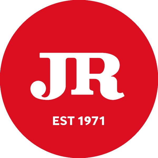JR Cigars logo grey
