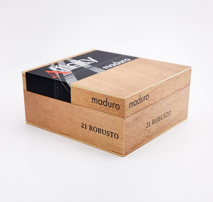 Luxury Cigar Packaging - Affinity Maduro Cigar Boxes