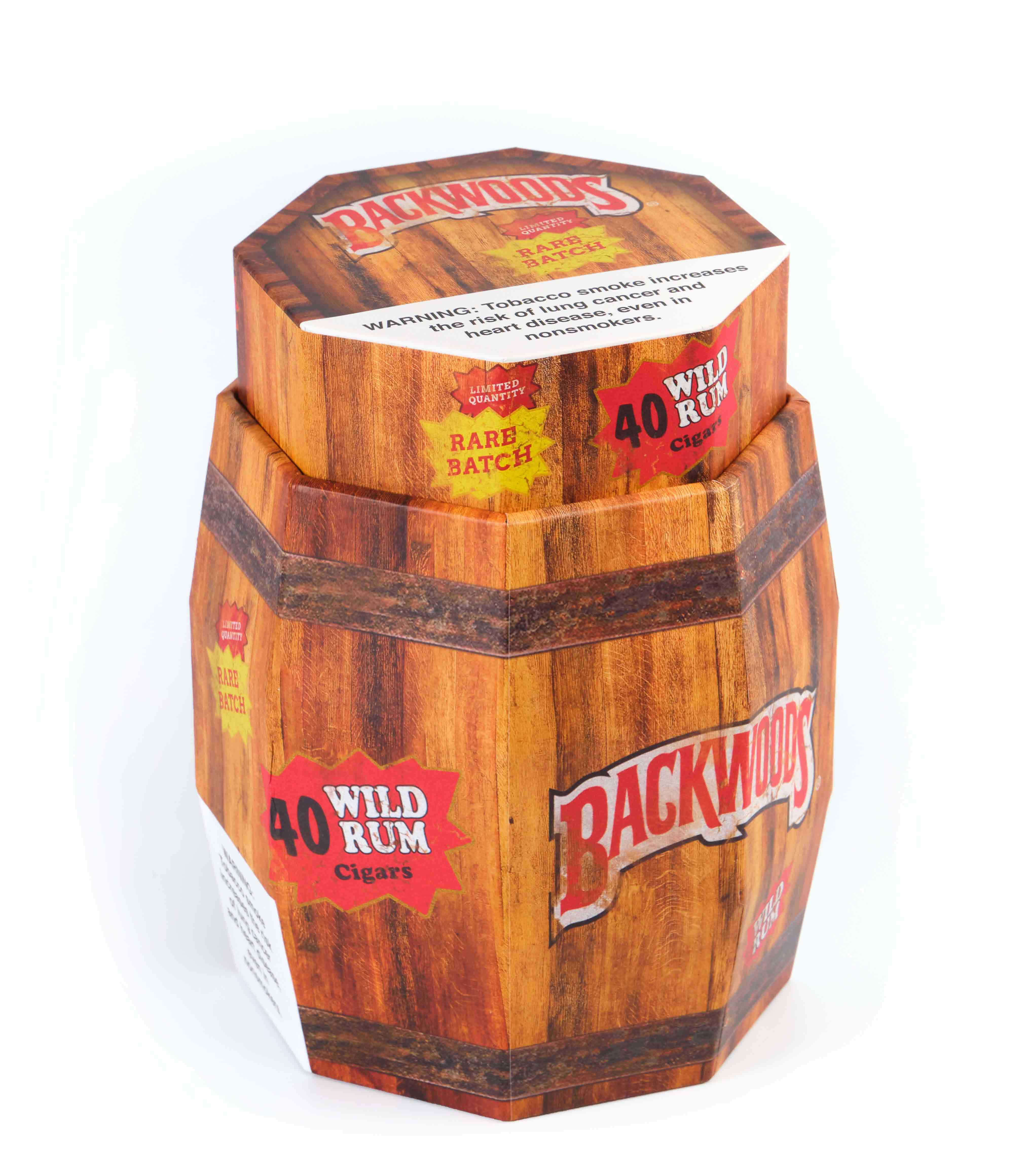 Backwoods Wild Rum Barrel