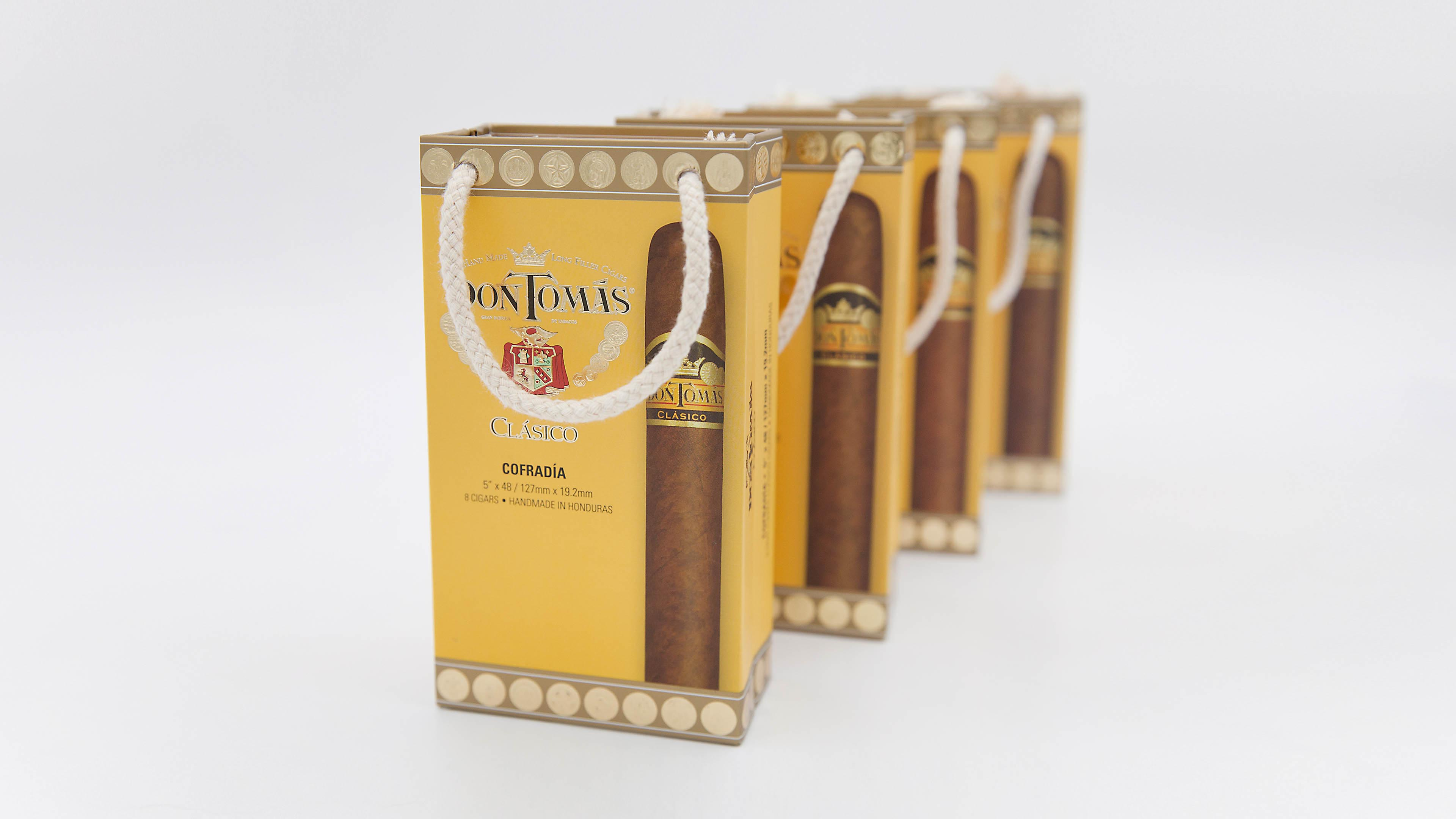 Luxury Cigar Packaging - Don Tomas Clasico - Cigar Boxes
