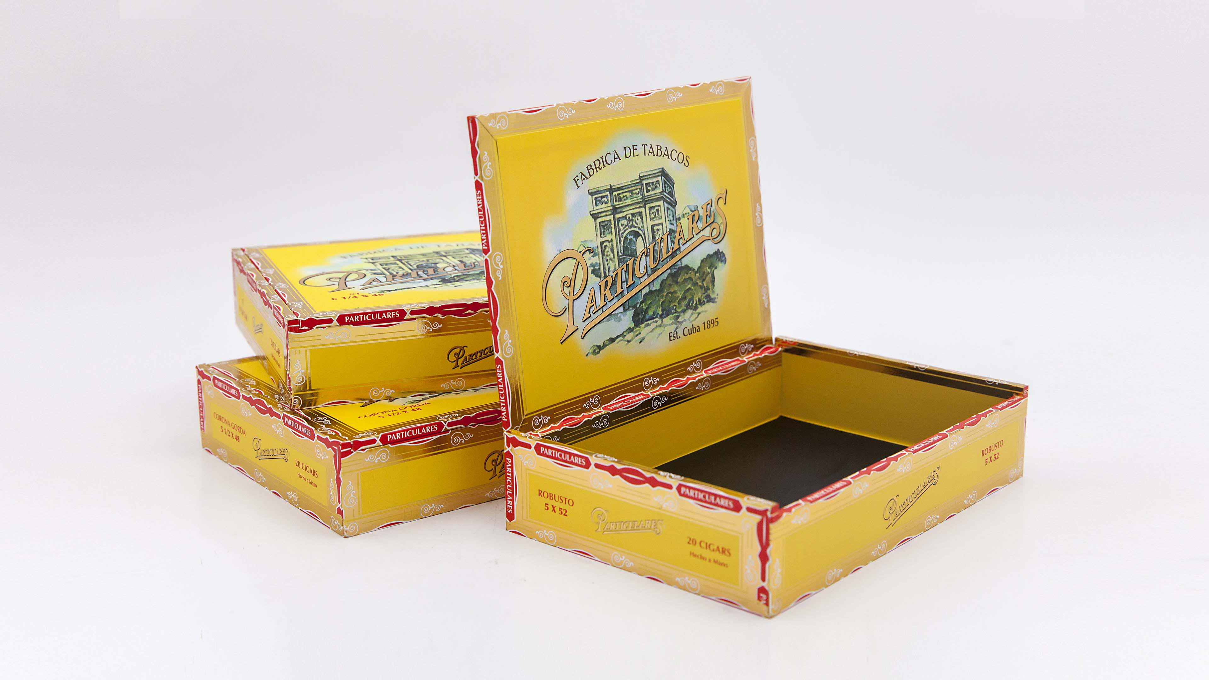 Luxury Cigar Packaging - Particulares Cigar Boxes