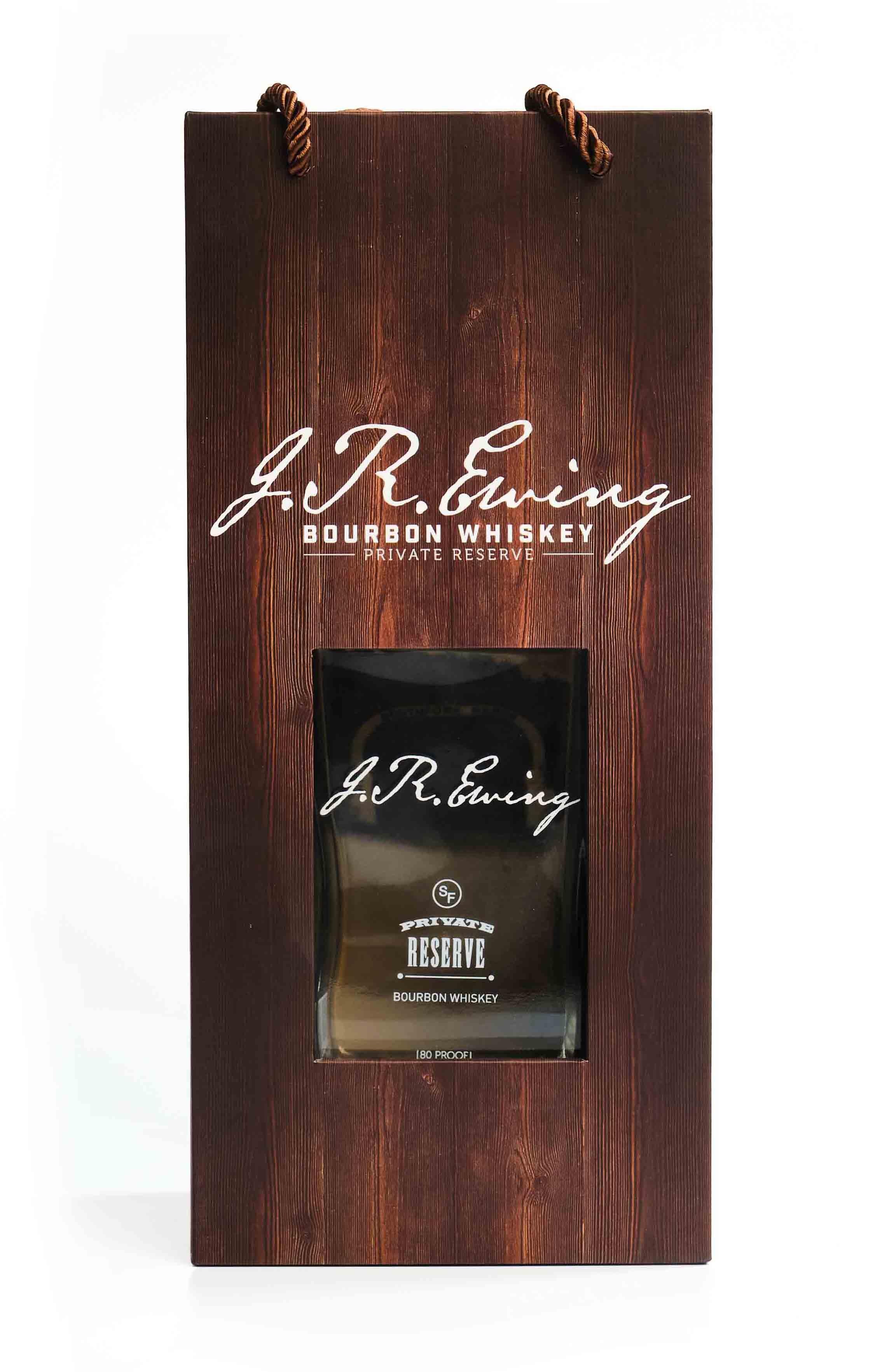 J.R.Ewing Bourbon Whiskey Box