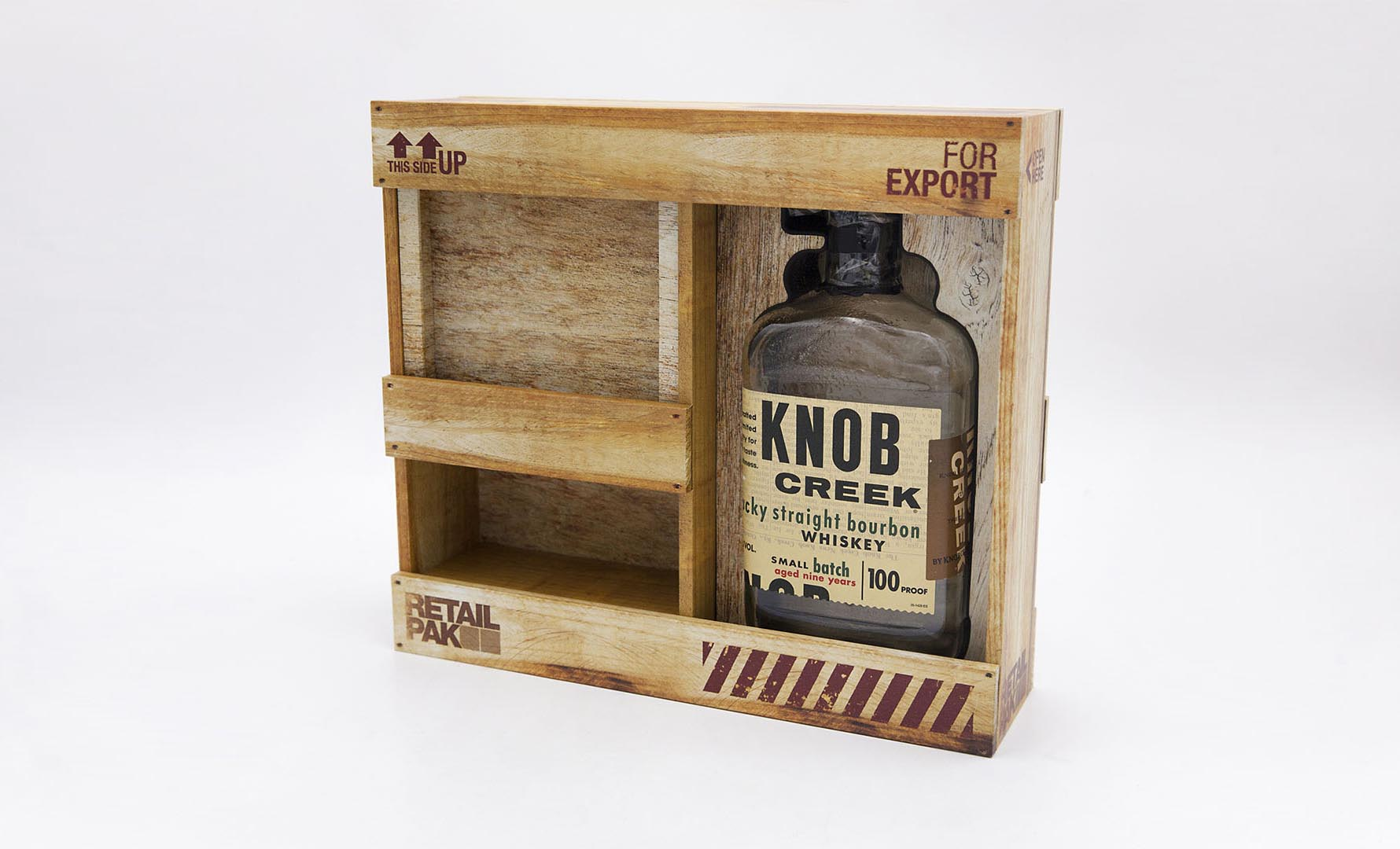 Knob Creek Whiskey Box