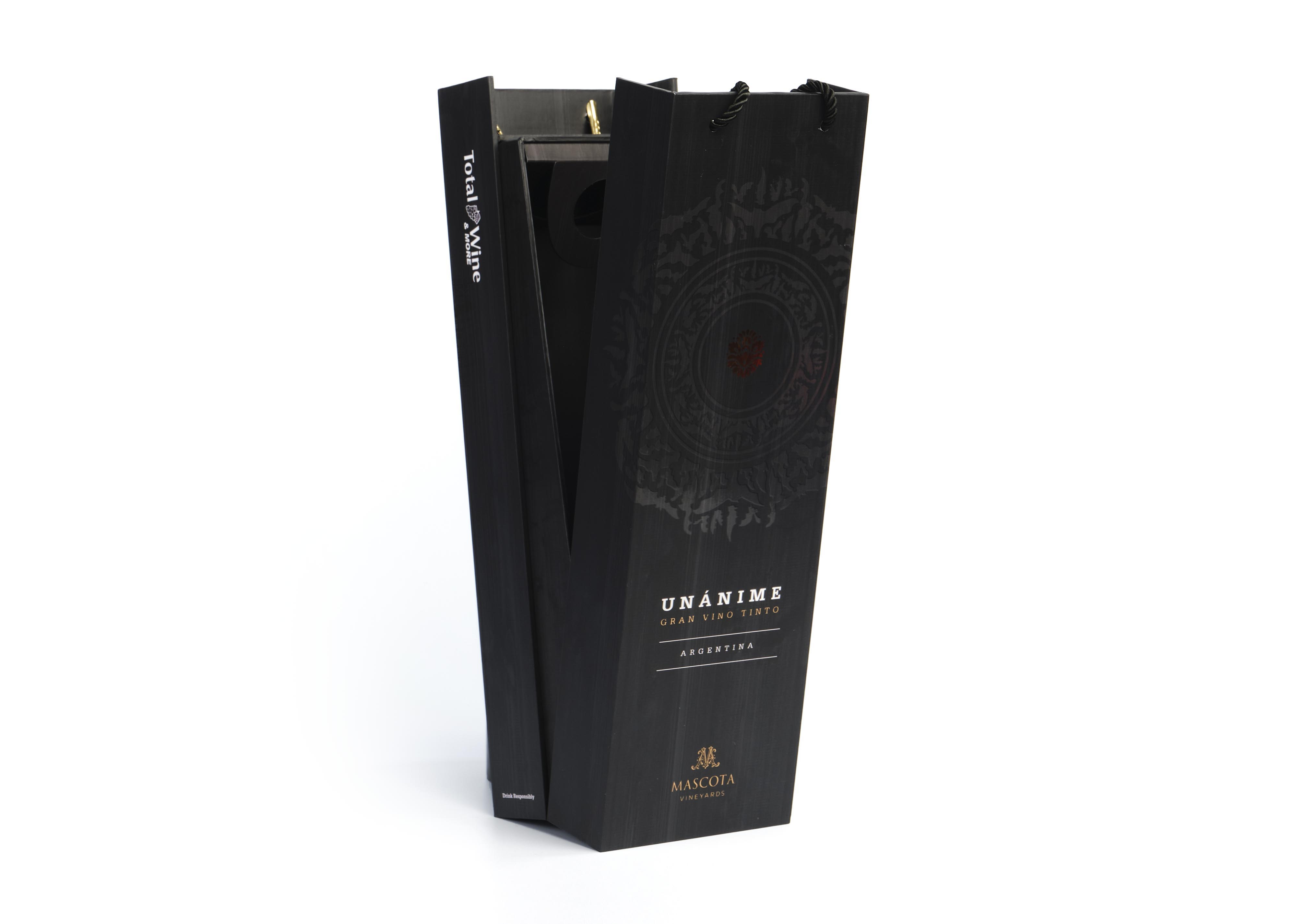 Wine & Spirits Packaging - Unanime Wine Box